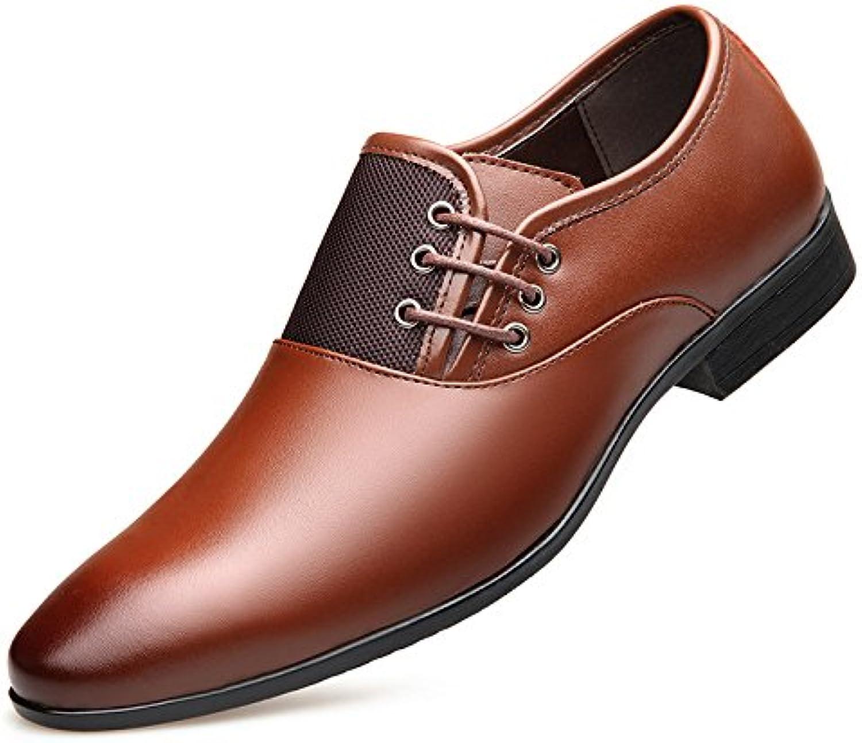 Hombres Hombres Negocios Charol Zapatos De Cuero Vestido Oficio Zapatos De Boda