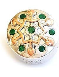 Clogau Escarbuncle Diopside Green Milestone Bead Charm