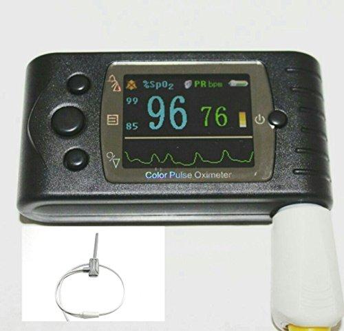 Contec Handheld Pulsoximeter mit baby-adult-newborn Variationen Echtzeit Abmessungen großes Display Farbe display-external SpO2Sonde