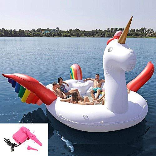 Fila galleggiante,oversize,unicorno,spiaggia all'aperto piscina per adulti giocattolo pvc materiali spessa acqua gonfiabile toy fashion style,per bambini e adulti