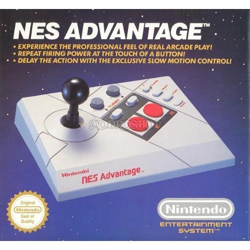 Advantage Joystick Für NES - PAL