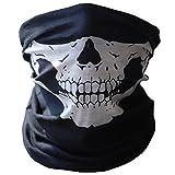 NiceButy Masques De Crâne Tour De Cou Cagoule Microfibre Crâne Chapeaux Tube Masque De Tubulaire Extensible Masque Visage De Crâne Poussière Protection Masque