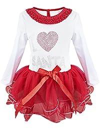 iefiel vestido de navidad fiesta para nia manga larga vestido infantil de princesa invierno