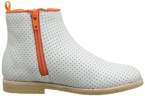 C. Petula Junior, Boots garçon Blanc (Perfo)