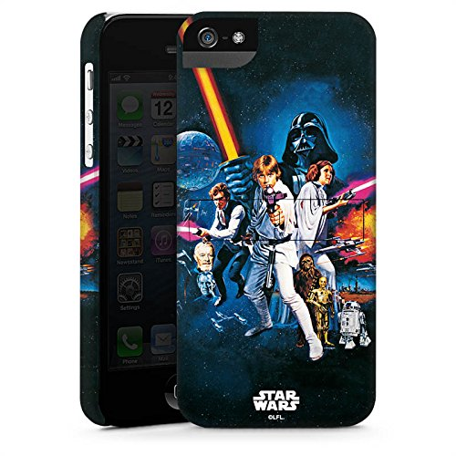 Apple iPhone 7 Hülle Premium Case Cover Star Wars Merchandise Fanartikel Episode IV Premium Case StandUp