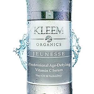 El Mejor Suero Vitamina C Para la Cara a Base de Acido Hialuronico 10% y Vitamina C 20% que Garanzia un Efecto Visibile Anti Etad, Riduciendo las Arrugas y las Manchas de la Piel in Solas 6 Semanas. La Mejor de Cada Crema Anti Arrugas. Sadisfecho o Reembolsado