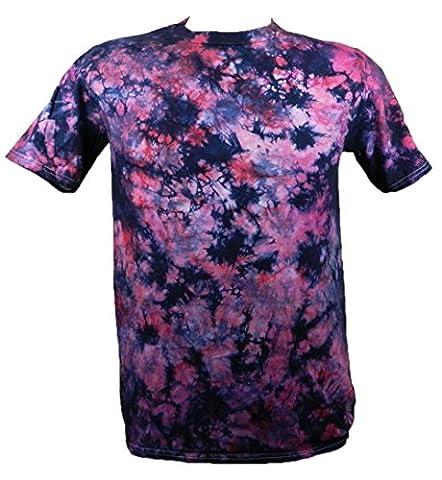 Tie Dye Purple / Raspberry Scrunch 701706 T-Shirt