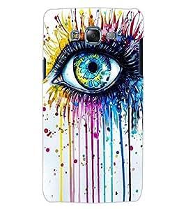 ColourCraft Creative Eye Design Back Case Cover for SAMSUNG GALAXY J5