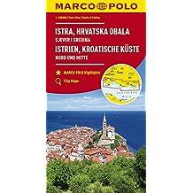 MARCO POLO Karte HR Istrien, Kroatische Küste 1:200 000: Nord und Mitte (MARCO POLO Karten 1:200.000)