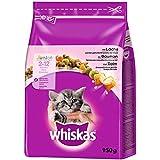 Whiskas Junior Katzenfutter Lachs, 5er Pack (5 x 950 g)