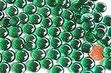 70 g. Deko Mosaiksteine Glasnuggets 10-12mm grün ca. 50 St.