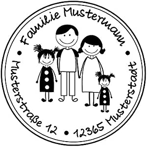 Familienstempel | Stempel person
