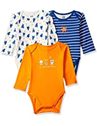 MINI KLUB Baby Boy's Regular fit Bodysuit (Pack of 3)