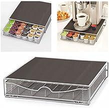 Dispensador de cápsulas de café Nestlé Dolce Gusto. Parte superior Home Solutions para máquina de soporte y cápsulas de soporte de cajón para Nespresso