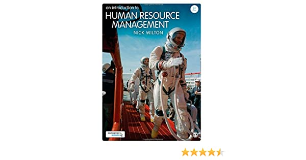 An Introduction To Human Resource Management Nick Wilton Pdf