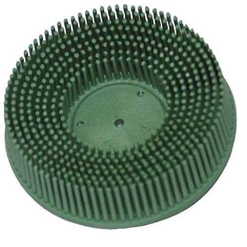 GYS Schleifbürste - Durchmesser 75 mm - Körnung 50 (grün) - mit Grobgewindeaufnahme, 1 Stück, 052468