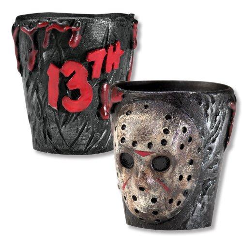 Rubie's Friday The 13th Bicchieri per liquore di Jason, 2 Pezzi 1071