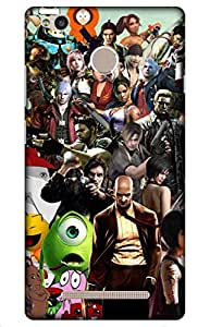 iessential game Designer Printed Back Case Cover for Redmi 3S