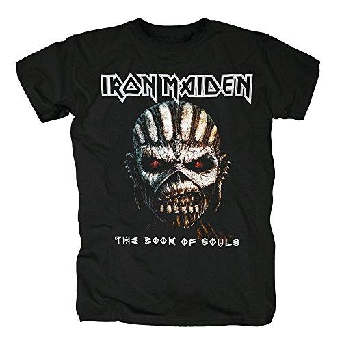 TSP Iron Maiden - The Book of Souls T-Shirt Herren XL Schwarz
