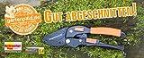 Gartenpaul Amboss Gartenschere R1| Rollschere | Gleitschere | Alternative zur Ratschenschere | stufenlos Schneiden