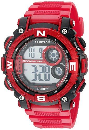 armitron-sport-herren-40-8284rdbk-digital-chronograph-matt-rot-kunstharz-armbanduhr