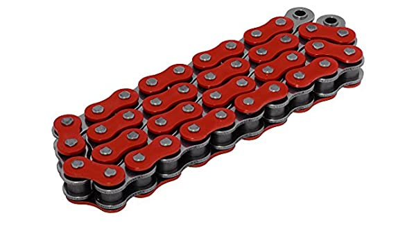 RK Racing Chain 520XSO-124 124-Links X-Ring Chain with Connecting Link