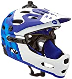 BELL Casco Super 3R MIPS, Unisex, Color Matte Force Blue/White, tamaño L