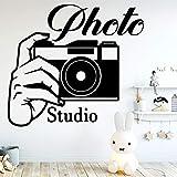 Creative Photo Studio Sticker Mural Papier Peint Décor Pour Chambre À Coucher Photo...