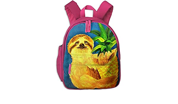 Crazy sloth lady kit bag backpack ruck sack