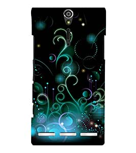 printtech Cool Design Back Case Cover for Sony Xperia S Lt26i