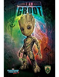 Guardians Of The Galaxy Vol. 2 Maxi Poster 61 x 91,5 cm I Am Groot - Space