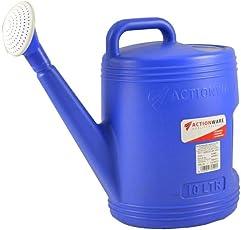 Actionware 10 Liter Garden Plants Watering Can, 10-Liter Premium High-Grade Plastic Watering Can/Gardening Tools/Handle for Extra Durability
