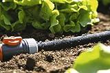 Gardena 1969-20 Perl Regner Schlauch, mit allen Anschlussarmaturen, mit Durchfluss- und Druckregulierung, verkürzbar oder verlängerbar (Beregnete Fläche 15qm, Schlauchlänge: 15m) - 3