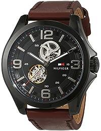 Tommy Hilfiger Herren-Armbanduhr Sophisticated Sport Analog Automatik Leder 1791280