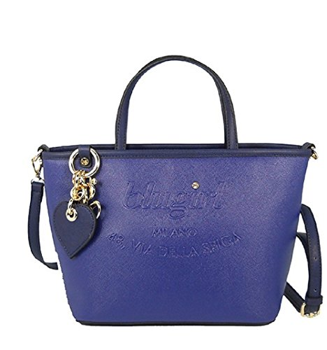 BORSA BLUGIRL SMALL SHOPPING BLU 002