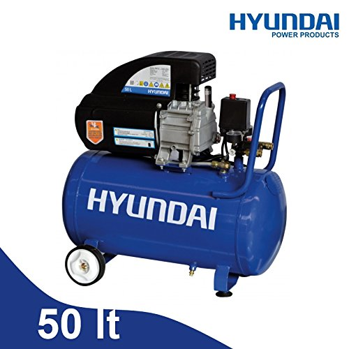 Compresor 50 l. Aceite Hyundai - BDM-50