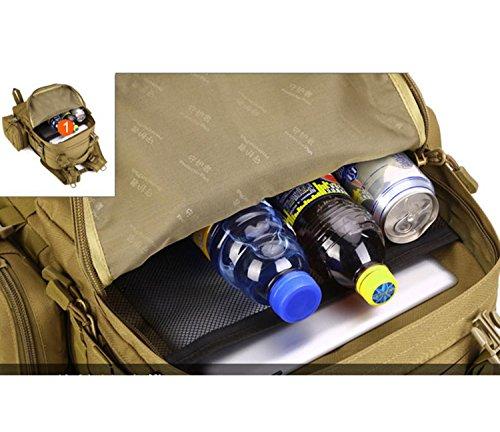 Protector Plus 50 Liter Rucksack Taktischer Rucksack Militär Rucksack Tasche für Jagd Schießen Camping Wandern Trekking Reisen B