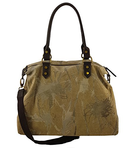 Freyday - Made in Italy, Borsa tote donna Taupe V.1