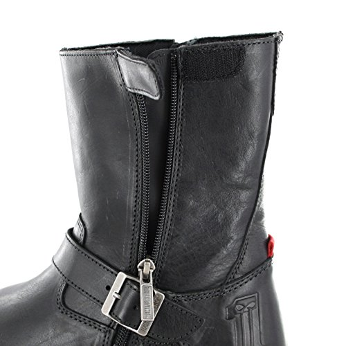 Nero Nero nero Stivali Davidson Stivali Harley Karl FqHXaxw