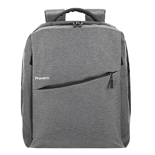 Preisvergleich Produktbild PRASACCO Laptop Rucksack Backpack für 14 Zoll Notebookrucksack mit Fächern Herren Business Rucksack Daypack wasserabweisend geeignet für Wandern Reisen Camping 16 Liter