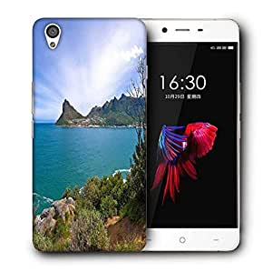 Snoogg Amazing Sea View Printed Protective Phone Back Case Cover For OnePlus X / 1+X