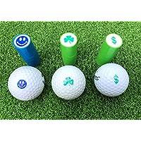 LL-Golf ® Golfball Stempel/Golf Ball Markierer/Marker in Verschiedenen Designs