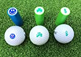 LL-Golf ® Golfball Stempel/Golf Ball Markierer/Marker in Verschiedenen Designs (Dollar Symbol)