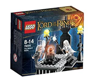 Lego 79005 - Costruzioni Il duello dei maghi, serie il signore degli anelli (lingua inglese)