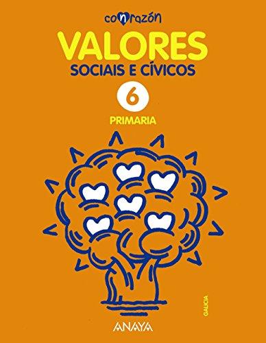 Valores Sociais e Cívicos 6. (Con razón) - 9788467883220