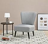 ARTDECO Cocktailsessel Lounge Sessel Vintagesessel grau