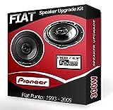 Fiat Punto Front Door Speakers Pioneer car speakers 240W