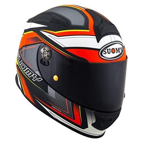 Suomy KSSR0037.4 Helm SR-Sport Engine Matt Black/Red-M