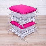 Amilian Baby Nestchen Bettumrandung 210 cm Design27 Bettnestchen Kantenschutz Kopfschutz für Babybett Bettausstattung