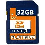 Platinum Carte Mémoire SDHC Class 6 32 Go